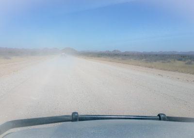 zwischen Windhoek und Tsauchab